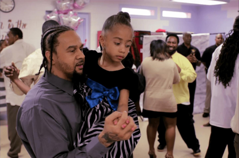 Bal dansant pour les pères-détenus et leurs filles