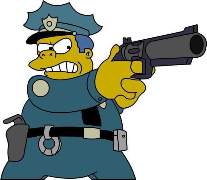 Bonjour la police!