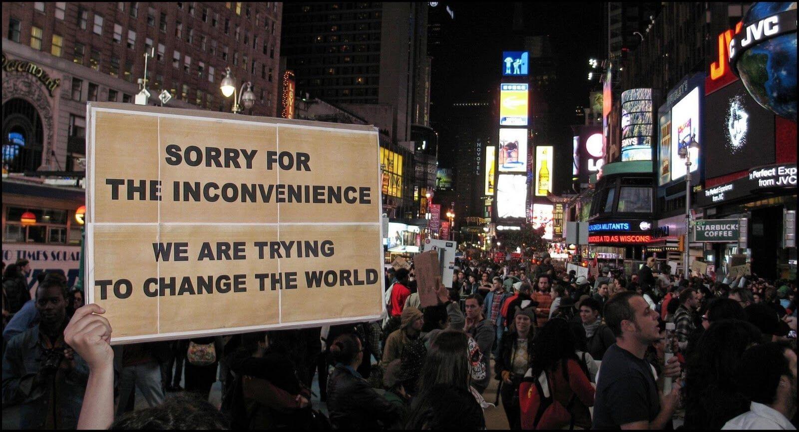 Changer le monde